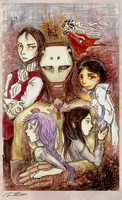 One handed family by DatLoon