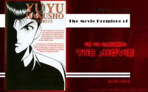 Toonami Movie Premiere: Yu Yu Hakusho Movie by CoolTaff12