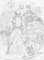 Astonishing X-Men... by SpiderGuile