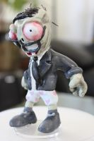 Newspaper zombie without paper by Reverie09