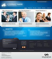 web layout 3 by graphstas