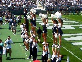 PSU Cheerleaders by Raviskool