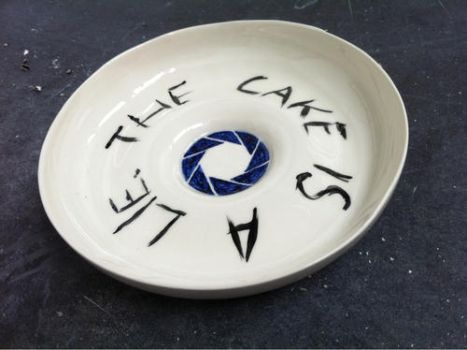 The Cake is a Lie by Slayer-Igraine