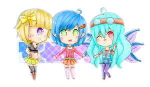 PC ~ IdoodleChibis by MyStarryDreams