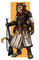 Desert Cat - Nomad Rifleman by TheLivingShadow
