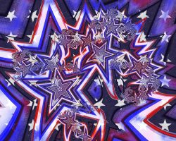 The All-American Fractal by JennDixonPhotography