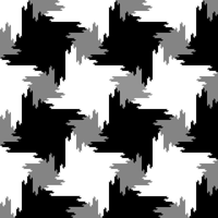 Periodic bits square tiling by markdow