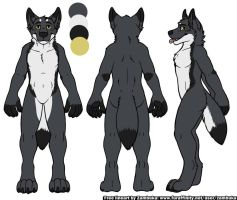 Lucious - Ref Sheet (FINALLY!) by TieWolf