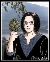 Woman with Artichoke by telophase