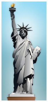 Statue of Liberty by rebel56