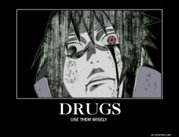Sasuke and Drugs. by ThisOneNarutoFreak