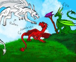 Love - gift for Rallas by Cynysi