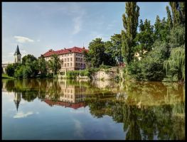 Chateau of Libochovice by Pildik