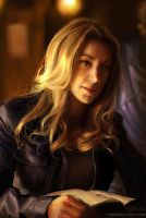 Photo refs studying - Zoie Palmer by Feohria