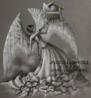 Black Rose Angel by Ladowska