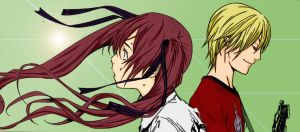Air Gear 264 Ringo and Kanon by Spitfire95
