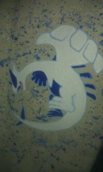 Canvas Tote - Lugia Closeup by moonthewolfpriestess