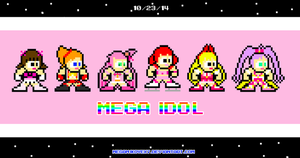 iDOLS In Mega Man Sprite! by MegaMikoyEX7