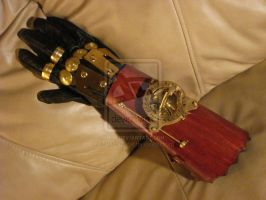 Steampunk gauntlet by Steampunk-club