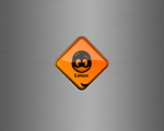 Linux warning sign by DeVinS