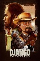 Django Unchained poster design by MarkButtonDesign
