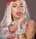 Creating Mother Monster by ChipWhitehouse