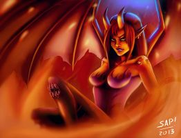 Succubus by Amaakir