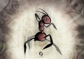 The Ant Warrior Tattoo by MPtribe