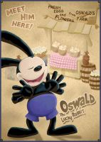 Oswald the Lucky Rabbit by Ahyuck