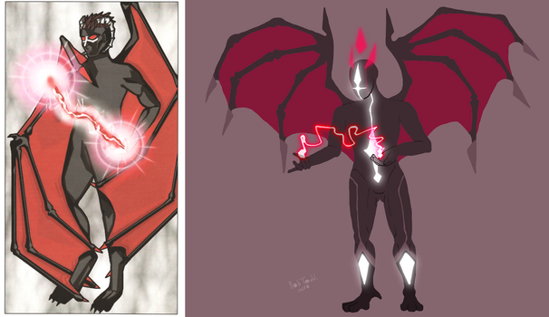 (redraw) Red devil thing by Sludgetown