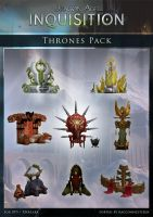 DAI Props - Thrones pack XPS - (DOWNLOAD) by raccooncitizen