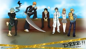 Durarara as Bleach by GodessFae