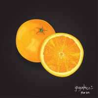 Orange by ijographicz