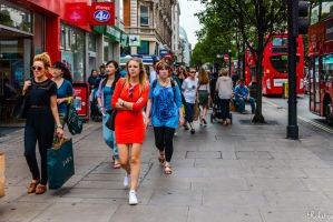 Loitering on Oxford street by Rikitza