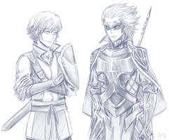 Inigo and Gerome by FimbulvetrIce