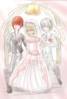 For Saru again : Wedding Day by Efaniel