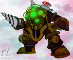 Big Daddy from Bioshock by RL-182