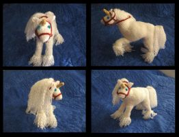 -Knitting- Poseable Unicorn by LadyTemeraire