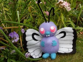 Plushplush Butterfree by channellehazel