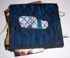 Stay altered book - back by Ewanecka