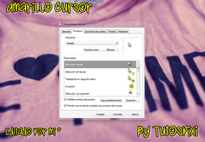 Cursor Amarillo :3 by TutosPixi