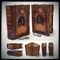 Anatomia sketchbook... July 2015 by alexlibris999