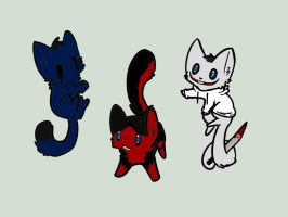 Creepypasta Kittens! CLOSED by Dewdrop-210