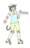 Skatercat -Adopted- by iedasb