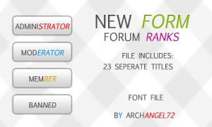 New Form Forum Ranks by bry5012