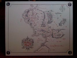 Middle Earth by Cyrano17
