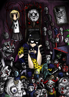 possession through dolls. by Corpse-boy