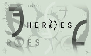 Heroes Tv Show - Logo, Helix, Eclipse Brushes by Cammerel