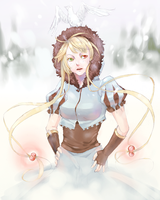 SS Theru in snow by Ayichii