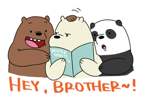 We Bare Bears by OysteIce